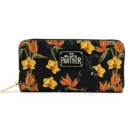Loungefly X Marvel Black Panther Floral Wallet - Cobalt Heights