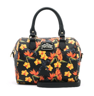 Loungefly X Marvel Black Panther Floral Handbag - Cobalt Heights