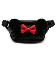 Loungefly X Disney Minnie Mouse Sequin Bum Bag - Cobalt Heights
