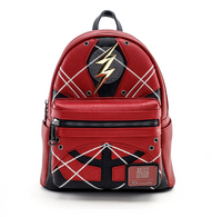 Loungefly X Justice League Flash Cosplay Mini Backpack - Cobalt Heights
