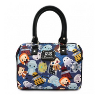 Loungefly X Dr Who Chibi Characters Handbag - Cobalt Heights