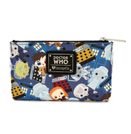 Loungefly X Dr Who Chibi Characters Wallet - Cobalt Heights