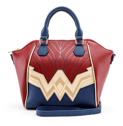 Loungefly X Justice League Wonder Woman Cosplay Handbag - Cobalt Heights