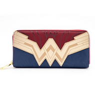 Loungefly X Justice League Wonder Woman Cosplay Wallet - Cobalt Heights
