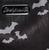 Sourpuss Triple Bats Hobo Purse - Print - Cobalt Heights