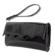 Sourpuss Batwing Wristlet Purse - Cobalt Heights