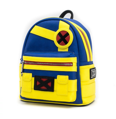 Loungefly X X-Men Cyclops Cosplay Mini Backpack - Cobalt Heights