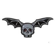 Sourpuss Kustom Kreeps Bat Bones Enamel Pin - Cobalt Heights