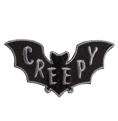 Sourpuss Creepy Bat Iron On Patch - Cobalt Heights