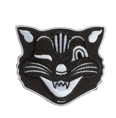 Sourpuss Jinx The Cat Iron On Patch - Cobalt Heights