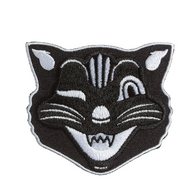 Sourpuss Jinx The Cat Iron On Patch - Cobalt Heights