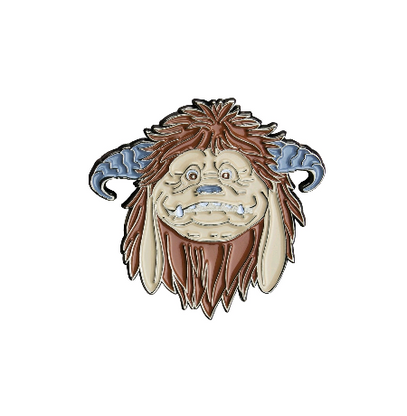 Labyrinth Enamel Pin - Ludo - Cobalt Heights