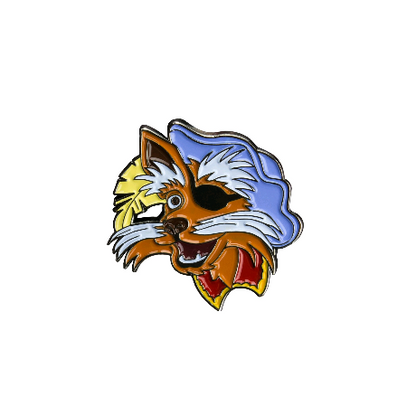 Labyrinth Enamel Pin - Sir Didymus - Cobalt Heights