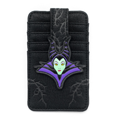 Loungefly X Disney Maleficent ID Wallet - Cobalt Heights
