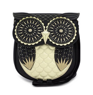 Loungefly X Owl Cross Body Handbag - Cobalt Heights