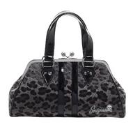Sourpuss Leopard Temptress Purse - Grey - Cobalt Heights