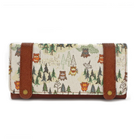 Loungefly X Star Wars Ewok Forrest Trifold Wallet - Cobalt Heights