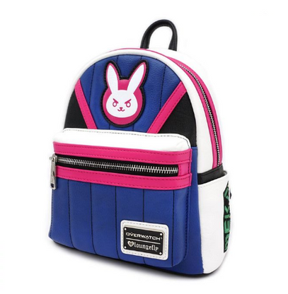 Loungefly X Overwatch D.Va Mini Backpack - Cobalt Heights