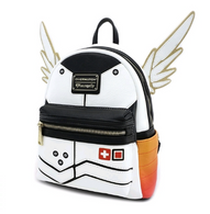 Loungefly X Overwatch Mercy Mini Backpack - Cobalt Heights