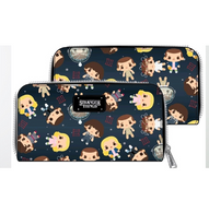 Loungefly X Stranger Things Eleven Chibi Print Wallet - Cobalt Heights