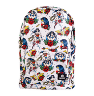 Loungefly X DC Wonder Woman Flash Tattoo Backpack - Cobalt Heights