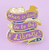 Jubly Umph When In Doubt Lapel Pin - Cobalt Heights