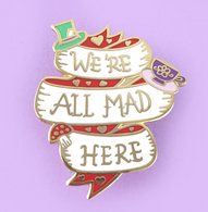 Jubly Umph We're All Made Here Lapel Pin - Cobalt Heights