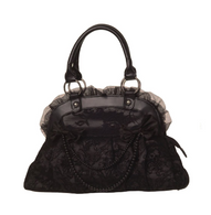 Banned Apparel Reinvention Handbag - Black - Cobalt Heights