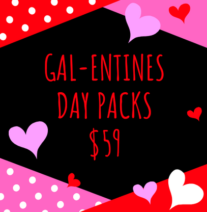 Gal-entines Day Pack - Pink or Red! - Cobalt Heights