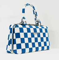 Starstruck Jetson Handbag - Blue Check - Cobalt Heights