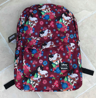 Loungefly X Disney Mulan With Fan Backpack - Cobalt Heights