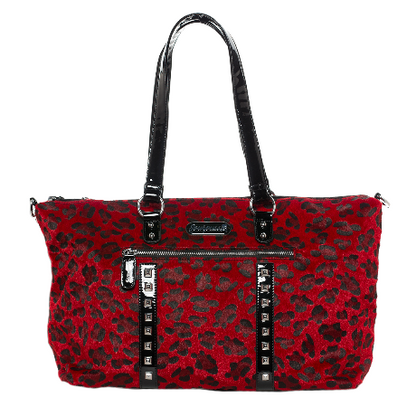Sourpuss Leopard Travel Bag - Red - Cobalt Heights