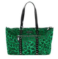 Sourpuss Leopard Travel Bag - Green - Cobalt Heights