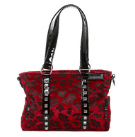 Sourpuss Leopard Mini Leda Purse - Red - Cobalt Heights