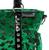 Sourpuss Leopard Mini Leda Purse - Green - Close Up - Cobalt Heights