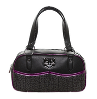 Sourpuss Jinx Tessa Purse - Purple - Cobalt Heights