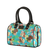 Loungefly X Disney Moana Floral Handbag - Cobalt Heights
