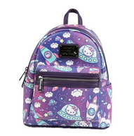 Loungefly X Hello Kitty Space Mini Backpack - Cobalt Heights