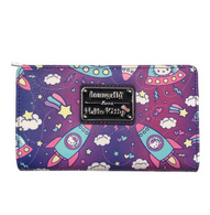 Loungefly X Hello Kitty Space Bifold Wallet - Cobalt Heights