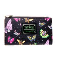 Loungefly X Pokemon Butterflies Bifold Wallet - Cobalt Heights