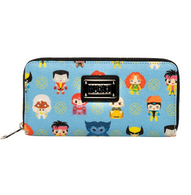 Loungefly X Marvel X-Men Chibi Characters Wallet - Cobalt Heights