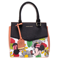 Loungefly X Disney Mickey and Minnie Floral Handbag - Cobalt Heights