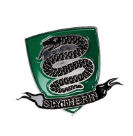 Harry Potter Enamel Pin - Slytherin Shield - Cobalt Heights