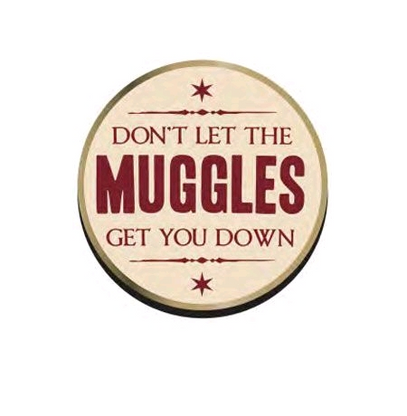 Harry Potter Enamel Pin - Don't Let The Muggles - Cobalt Heights