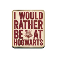 Harry Potter Enamel Pin - Rather Be At Hogwarts - Cobalt Heights