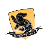 Harry Potter Enamel Pin - Hufflepuff Shield - Cobalt Heights