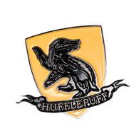 Harry Potter Enamel Pin - Hufflepuff Shield - Cobalt Heights