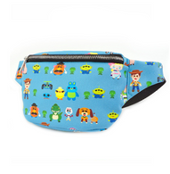 Loungefly X Pixar Toy Story 4 Chibi Characters Bum Bag - Cobalt Heights