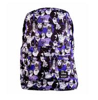 Loungefly X Disney Villains Purple Portraits Backpack - Cobalt Heights