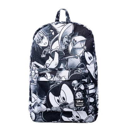 Loungefly X Disney Kingdom Hearts Characters Backpack - Cobalt Heights